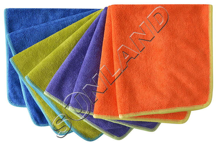 """24PC/lot 8""""x8"""" Microfiber Cleaning Cloth Microfiber Kitchen Towels Wiping Dust Rags Magic Dish Cloth Product(China (Mainland))"""