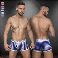 4 colors sexy gibs new disign underwear men cueca for male breathable Elastic boxers shorts men ST508(China (Mainland))