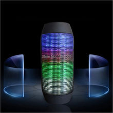 Portable Wireless Bluetooth Speaker 360 LED Lights Speakers Support U-disk TF card Boombox Speaker Outdoor Amplifier For Phone