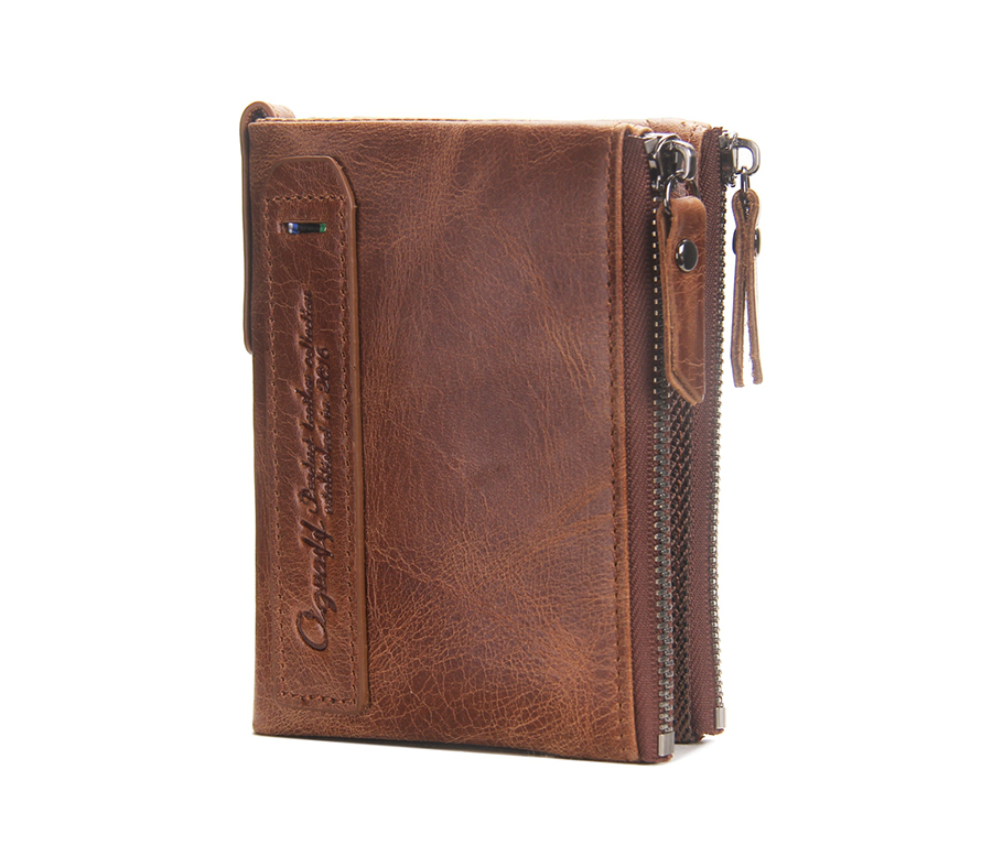 Ograff purse genuine leather men wallets clutch male for Yamaha leather wallet