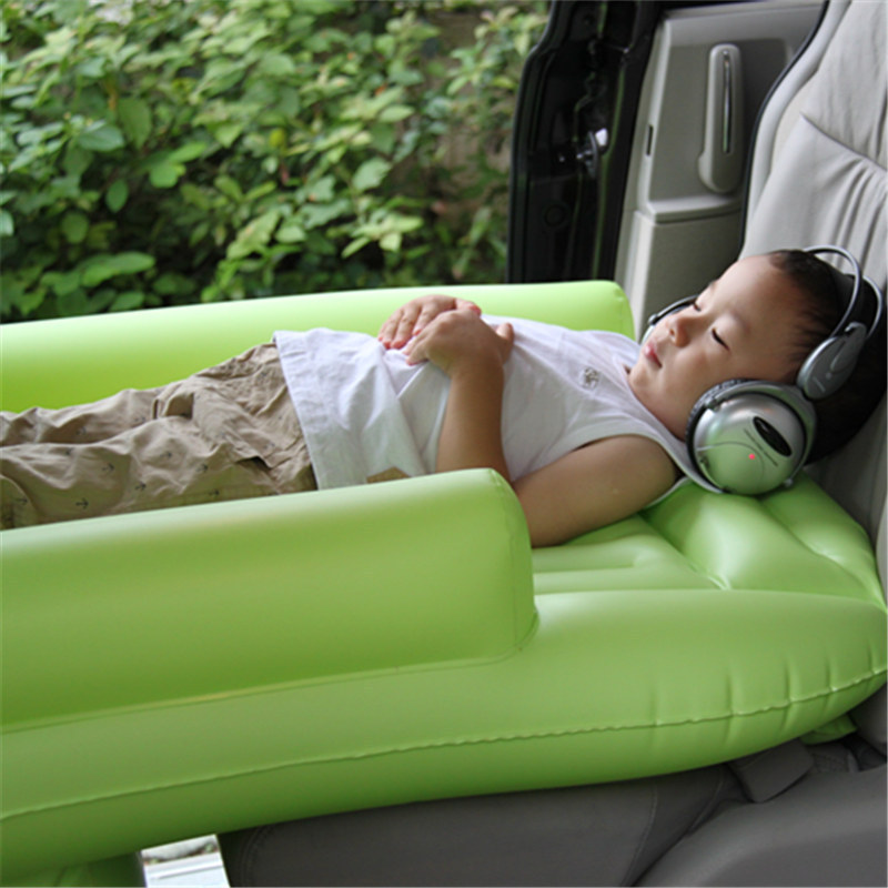 for children 39 s inflatable mattress vehicle travel bed the car baby sleeping bed car rear. Black Bedroom Furniture Sets. Home Design Ideas