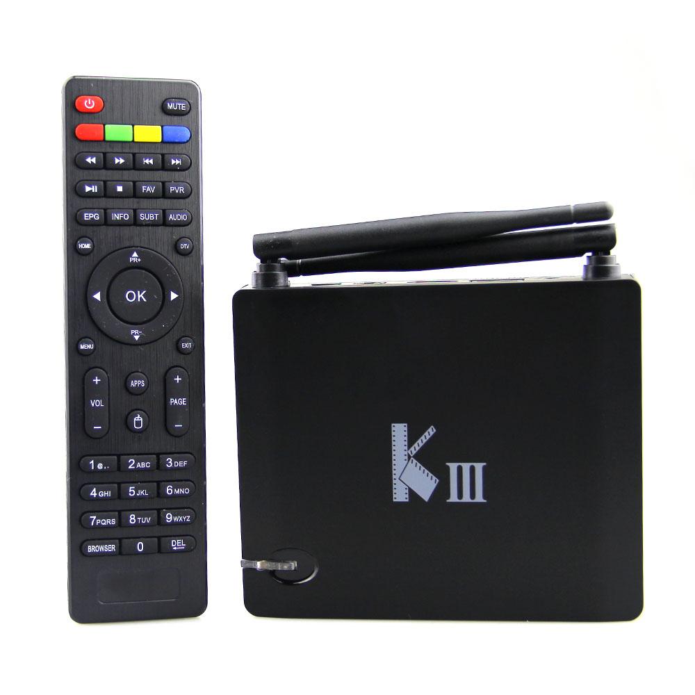 2016 KIII Android 5.1.1 TV Box 2G/16G Amlogic S905 2.4/5G Dual WiFi DLNA Airplay KODI XBMC Quad-Core UHD 4K 3D Miracast EU/US<br><br>Aliexpress