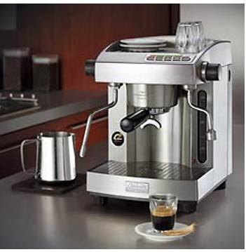 Semi-auto pump espresso machine,Twin twin thermoblock - TPTT system,reliable quality profesional shop Your Coffee Sky store