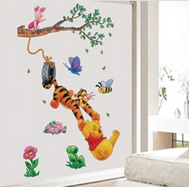 winnie pooh wandtattoo xxl stunning fototapete winnie. Black Bedroom Furniture Sets. Home Design Ideas