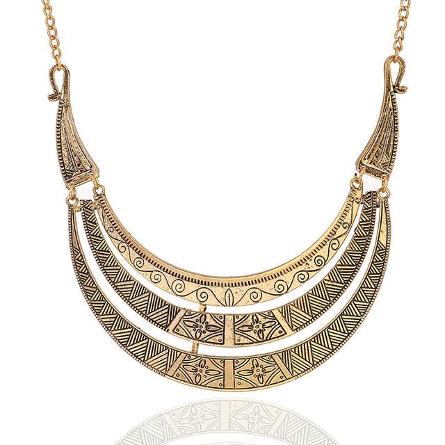 Ожерелье ювелирных изделий звезды 2016 новое поступление старинные три - слои золотые ...