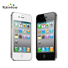 Unlocked Original Apple iPhone 4 Cell Phones 8/16/32/GB/ROM 5MP/Camera IOS Free Shipping(China (Mainland))