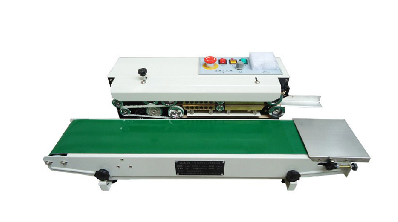 High Quality FR-770 Automatic Heat Plastic Bag Foil Bag Band Sealer Machine Sealing Machine(China (Mainland))