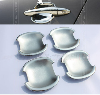 ACCESSORIES FIT FOR 2011 2012 2013 2014 KIA SPORTAGE CHROME SIDE DOOR BOWL INSERT CAVITY COVER TRIM MOULDING CUP