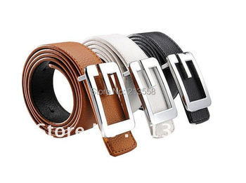Free Shipping, Leather Belts,Leather Dress fashion Buckle Belt for women,A004
