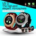 V8 Bluetooth3 0 Smartwatch Mobile phone watch HD Touch screen Can support SIM card Smart Watch