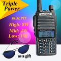 BaoFeng UV 82HX Portable Radio 8W 10KM Walkie Talkie Amateur Radio Double PTT Pofung Handie Talkie
