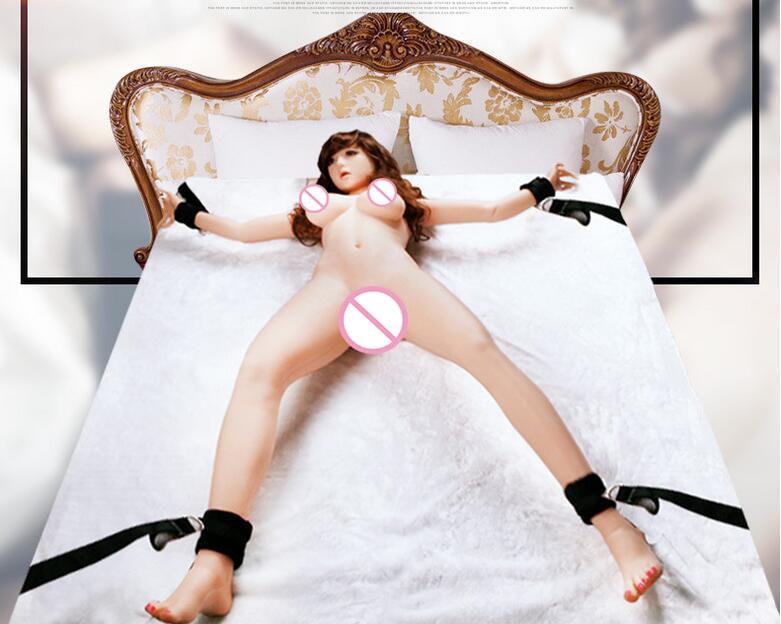 Ремни на кровать для сексуальных игр