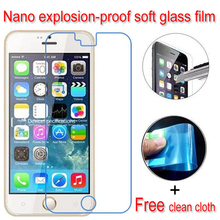 Nano Explosion-proof Soft Glass Clear Screen Protector Protective Lcd Film Blackview ultra A6 - Sobestforever International Ltd store