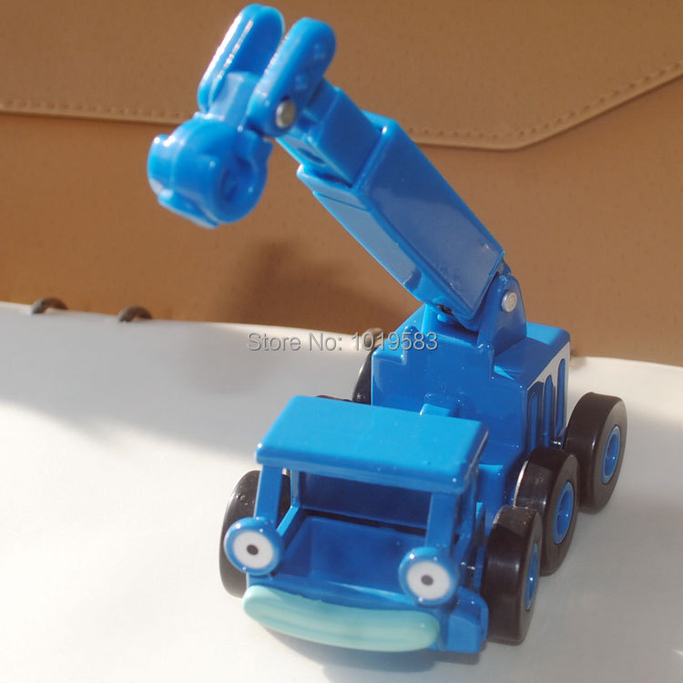 (5pcs/pack) Wholesale Brand New Bob The Builder Toys Lofty The Blue Crane Diecast Metal Car Toy -Free Shipping(China (Mainland))