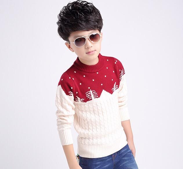 Скидки на Мальчик бренд осень одежда ситец и шерстяной свитер свитер детей большой мальчик мальчик мультфильм свитер свитер детей
