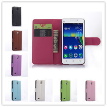 Lenovo A3800D A3600D case Business luxury Wallet design Litchi pattern stand Flip Leather phone Cases For Lenovo A3600