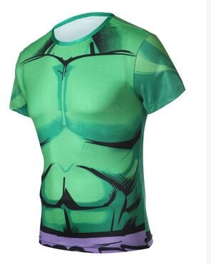 New 2015 Summer Hot Marvel Hulk Super Hero Mens T Shirts XXL Men Tops Tees Short Sleeve Men Cosplay T Shirt Jersey Free Shipping(China (Mainland))