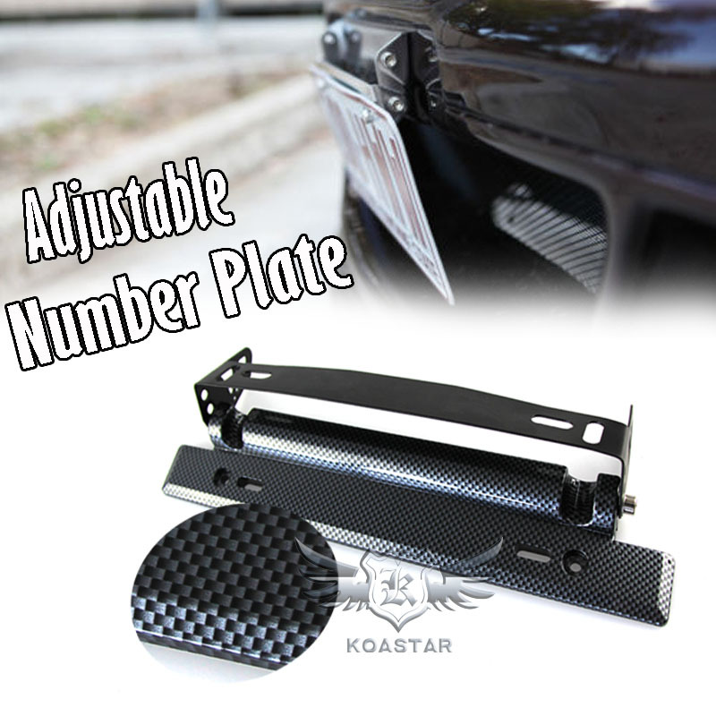 Universal adjustable rotating auto license plate frame number plate holder(China (Mainland))