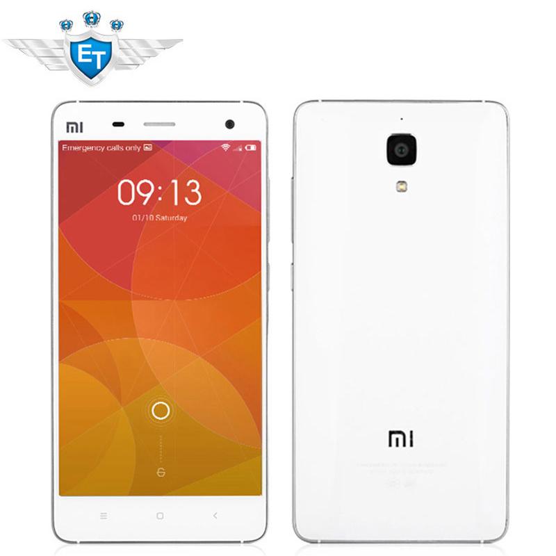 "Original 5"" Xiaomi Mi4 Mi 4 M4 Telecom 4G LTE Cell Phone Snapdragon 801 Quad Core 2GB RAM 16GB ROM 1920x1080 13.0MP Camera GPS(China (Mainland))"