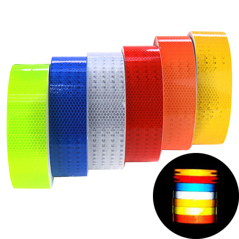 5x300cm Car Reflective Tape Sticker Auto Stickers Brand Decoration Film Motorcycle Safe Reflect Safety Warning Tape Car-Styling(China (Mainland))