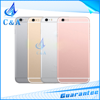 replacement parts for iphone 6S back housing 4.7 inch battery door for iphone6s cover with buttons 1 piece free shipping