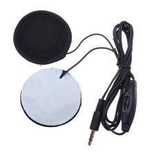 3,5 mm motorradhelm lautsprecher kopfhörer anschließen lautstärkeregler mp3-telefon Musik(China (Mainland))