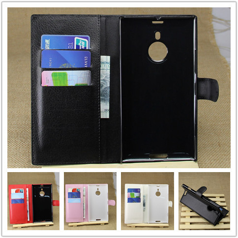 Luxury Wallet Leather Case Cover for Nokia Lumia 1520 with Card Holder Stand Flip Leather Mobile Phone Bag Case for Nokia 1520(China (Mainland))