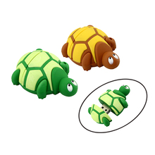 32GB! Wholesale USB Pen drive, PVC Plastic Cartoon Tortoise pendrive 4gb 8gb 16gb 32gb Turtle usb flash Memory Stick pen drive(China (Mainland))