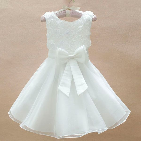 Blue white 2014 girl Christmas dress, girls princess tutu lace dress,baby wedding dress birthday party dresses 2-4 years - MixKelly Children Clothes Center store