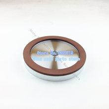 Herramientas de diamante lijadora de banda herramientas sola cóncavo resina diamante muela productos de carburo de especificación 150 * 20 * 15 * 4
