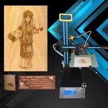 New Arrival Portable DIY Impresora Prusa i3 3D Printer Kit Mini Laser Engraving Machine for Crafts