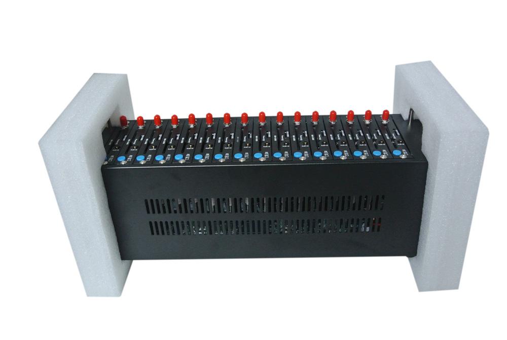 Fast Shipping 2016 Cheapest Bulk SMS device 16 sim card usb gsm modem pool wavecom q2403 dual band Piscina modem massa sms(China (Mainland))