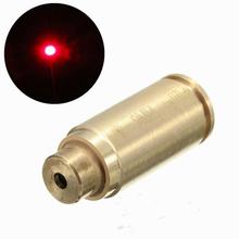 New arrive 9mm Red Laser Dot Boresighter Bore Sight Caliber Cartridge Boresight Hunting flashlight for Handguns Rifle(China (Mainland))