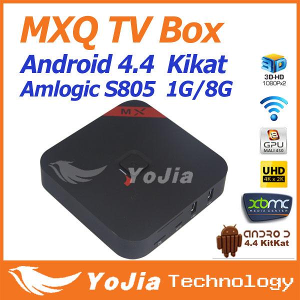 Mxq s805 smart tv box android xbmc quad core 8gb wifi hd 1080p media - Buy Best Amlogic S905x Ram 2gb Rom 16gb Android Tv Box