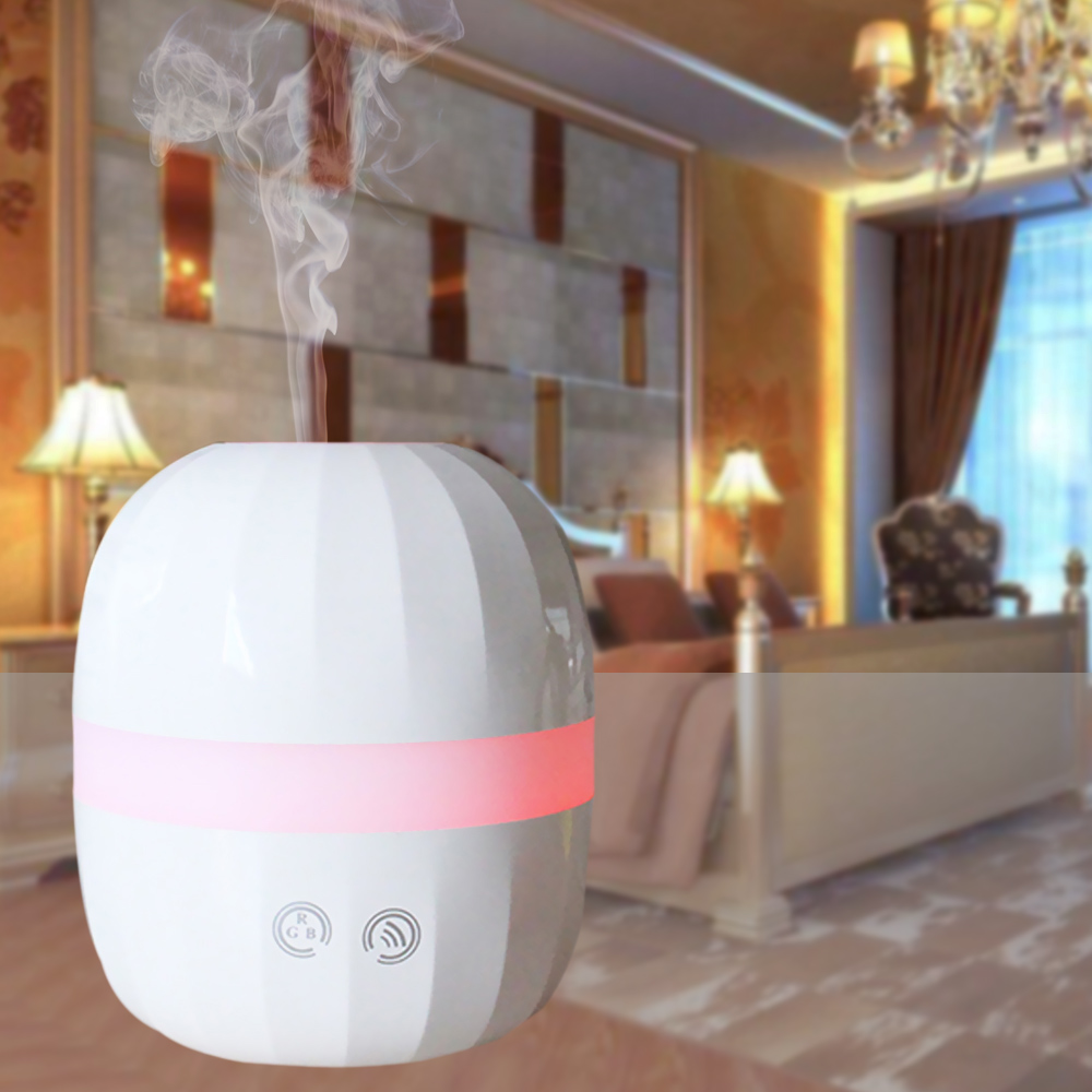 Aroma night lamps - Ultrasonic Aroma Diffuser 100ml Air Humidifier Led Night Light
