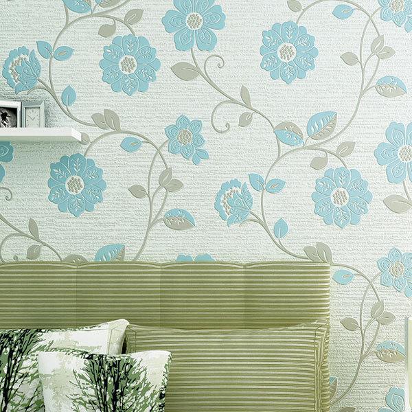 papel parede 3D Wallpaper roll Flowers <font><b>Home</b></font> <font><b>Decorative</b></font> Floral Wallpapers Eco Non-woven Mural Papel de Parede <font><b>Elegant</b></font> Wall Paper