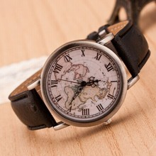 High Quality Soft Leather Strap Watches For Women Retro Roman Number Copper Alloy Quartz Wristwatch Plate