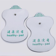 NEW 20pcs/(10 pairs/lot) Health Pad White Electrode Pads For Tens Acupuncture Digital Therapy Machine Massager High Quality