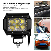 4 Inch 30W LED Work Light Bar Offroad Driving Fog Light Flood Lamp For 4WD SUV ATV 4X4 Boat ATV(China (Mainland))