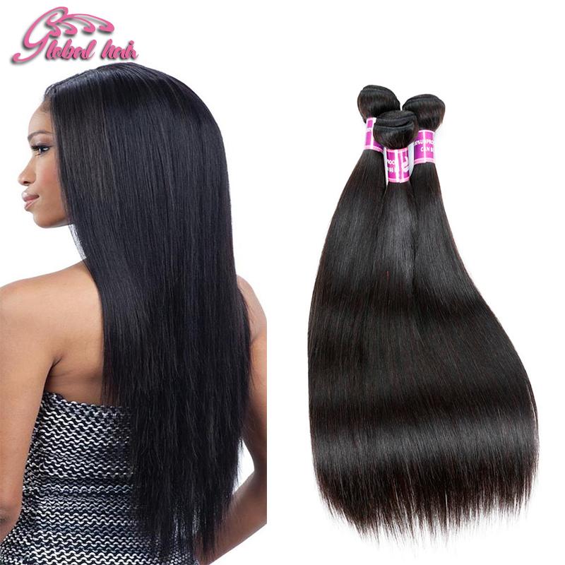 Indian Straight Hair 7A Straight Human Hair Weaves 3Pcs lot Beau Diva Products Indian Virgin Hair Natural Black Hair Bundles<br><br>Aliexpress