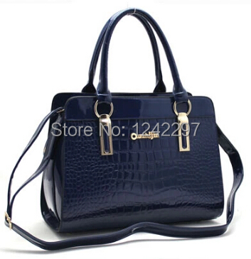 NEW 2015 OL Women's Genuine leather handbag Fashion For Crocodile Women's Shoulder bag Messenger bag Free shipping 1.1/2(China (Mainland))