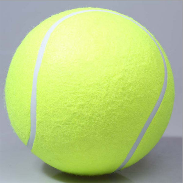 New Giant Tennis Ball Signature Signal Pet Chews Toys Dogs Playing Toy Dog Supplies Outdoor Sports Cricket(China (Mainland))