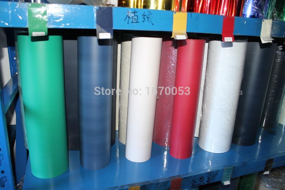 Flock Material Heat Transfer PU Vinyl for T- shirts,High-quality Heat Transfer Vinyl,T shirts Transfer Vinyl Size:50x100cm/lot(China (Mainland))