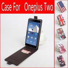 100% Leather Case 1 + OnePlus Two / 2 Flip Cover housing One Plus 1+ Mobile Phone - HiNOAH Store store
