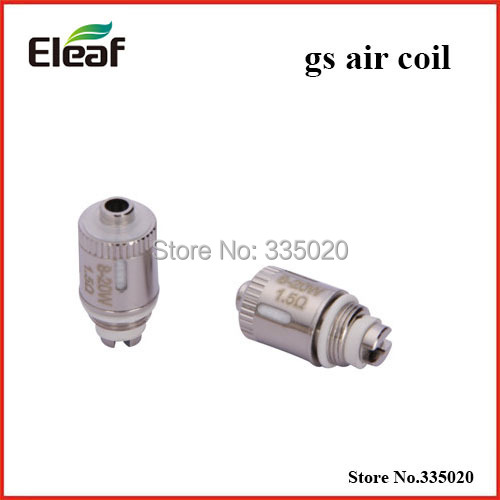 Original Eleaf GS Air Replacement Coil for iSmoka GS-air Atomizer 1.2ohm Coil for GS air atomizer 100pcs/lot(China (Mainland))