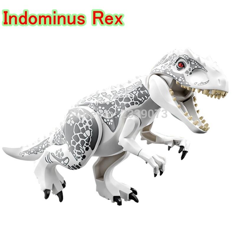 ZxZ Indominus Rex DIY Blocks Single Sale Dinosaurs Tyrannosaurus Rex Mini Models & Building Blocks Toys Children