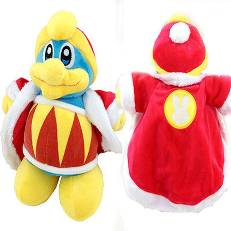 Kirby Adventure Series All Star Collection 10 Inch King Dedede Plush Animal Toy(China (Mainland))