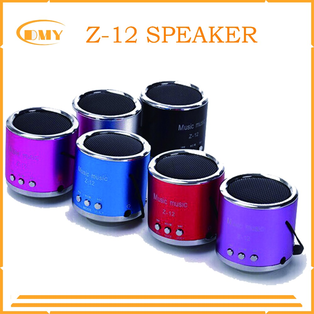 Portable mini Z-12 Angel Kaidaer speaker laptop mobile phone music speaker with original package free shipping(China (Mainland))
