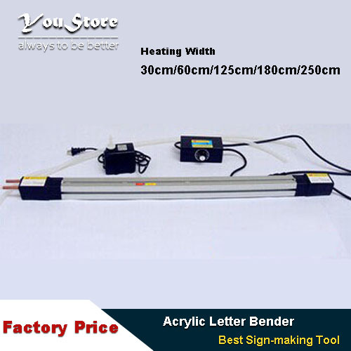 Acrylic letter Hot-bending Machine Plexiglass PVC Plastic board advertising channel bender 30cm(China (Mainland))