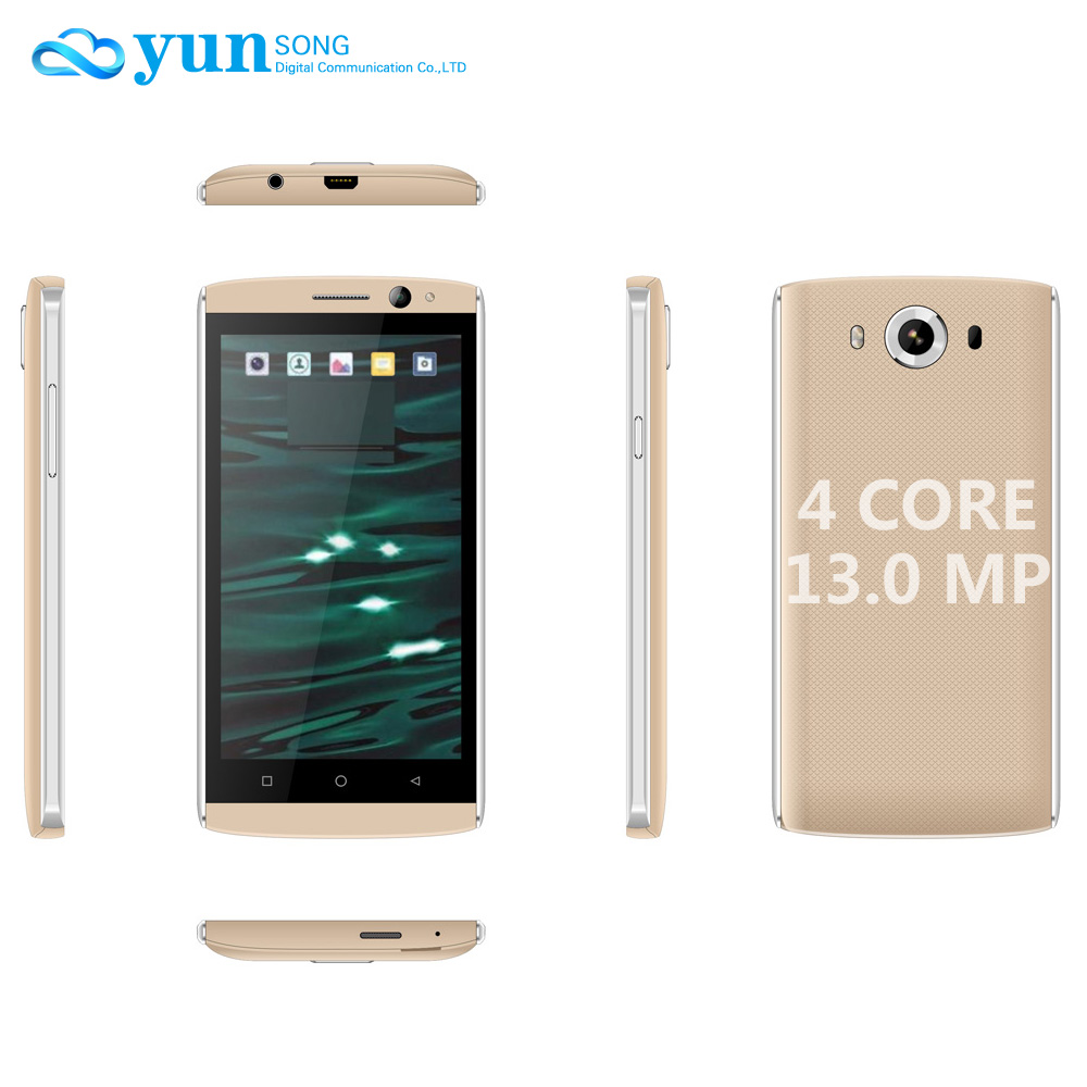 YUNSONG YS9pro 4.5 inch smartphone Quad Core MTK6580 1GB RAM 8GB ROM 13MP camera Cell Phone Android GSM/WCDMA 3G Mobile Phone(China (Mainland))